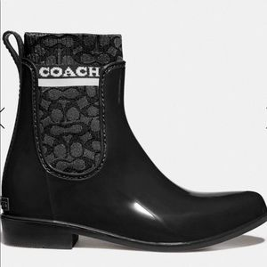 NIB Coach Rivington Rain Boot